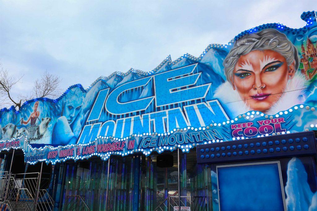 Ice Mirror Maze - Planet Fun