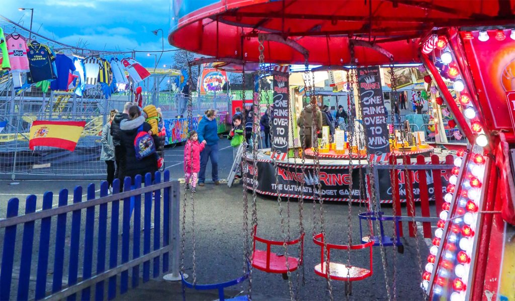 Kids Swing Chairs - Kids Chair 'O' Planes - Planet Fun